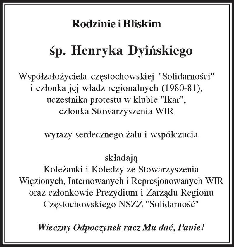 kondolencje-henryk-dyinski